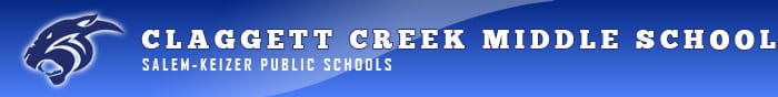 Claggett Creek Middle School Logo