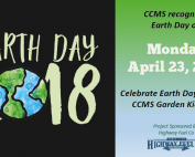 Earth Day, Mondy April 23, 2018